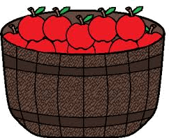 Many apples are in basket – Find good ones