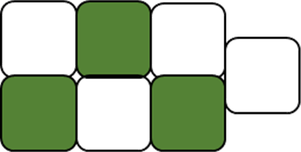 This figure represent the unshaded part – Choice D