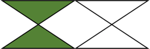 This figure represent the unshaded part – Choice C
