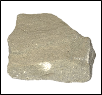 This image shows the various types of rocks – Choice C