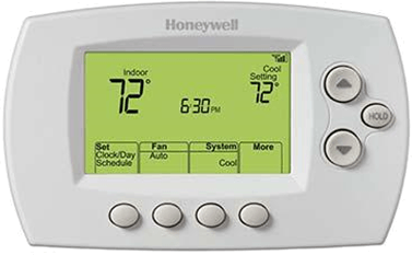 Figure showing a thermostat