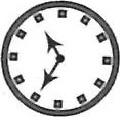 Choice 3 is correct mirror image - clock
