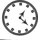 Choice 4 is correct mirror image - clock