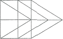 An image made by lines having parallelogram
