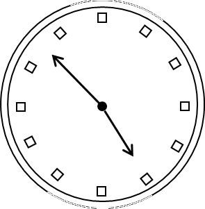 Mirror images of watch – Choice D