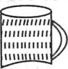 Finding missing pattern in the mug shape – Choice 1