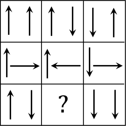Matrix having arrows