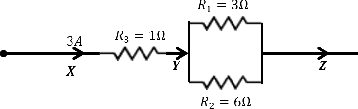 Circuit Diagram with R1, R2 and R3 resistors