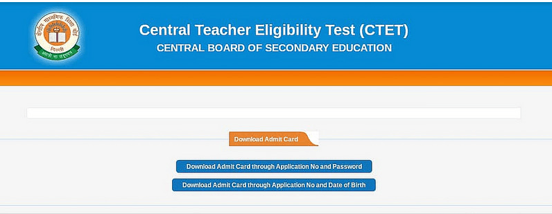 Image of Central teacher Eligibility Test