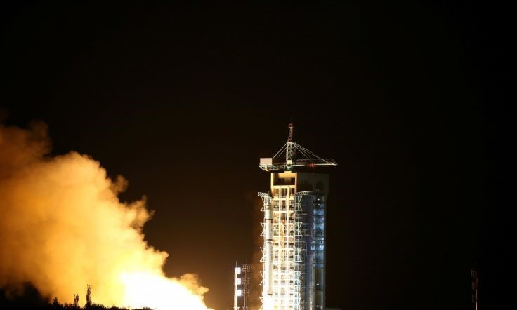 Image of Satellite Lunched by China