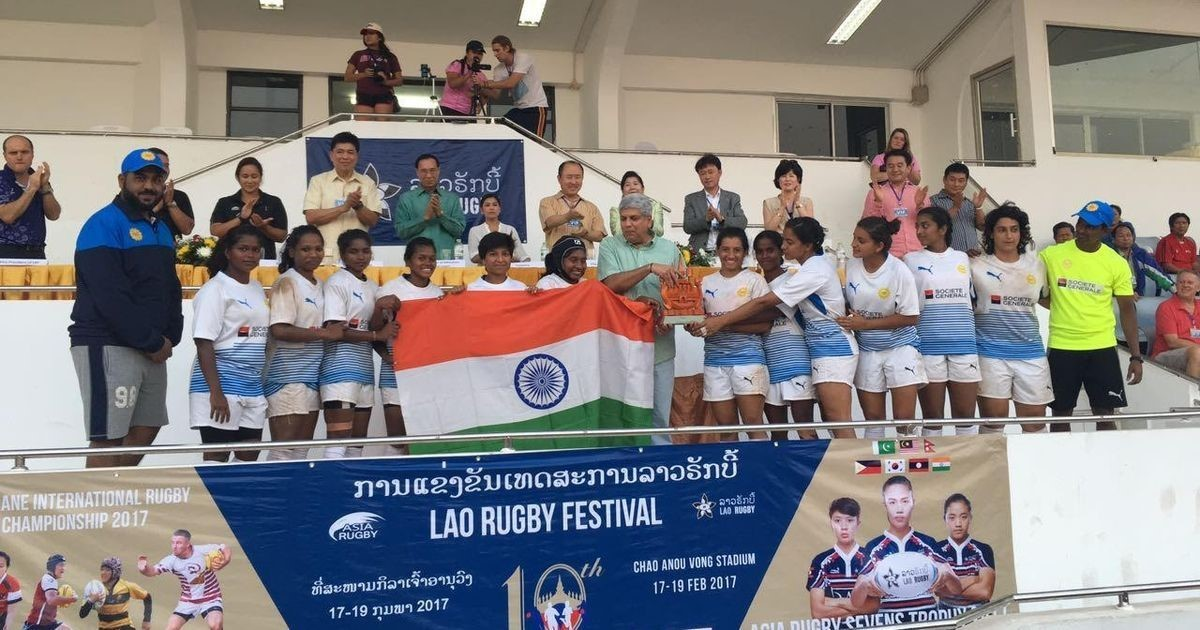 India wins silver at the Asian Sevens Trophy