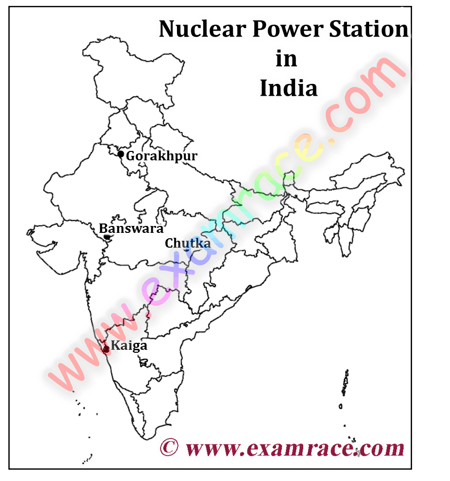 Governments Decision To Set Up Atomic Power Plants To Generate - Nuclear plants in india map