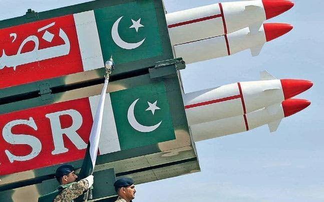 Pakistan Test Fires Nuclear Capable Submarine Missile