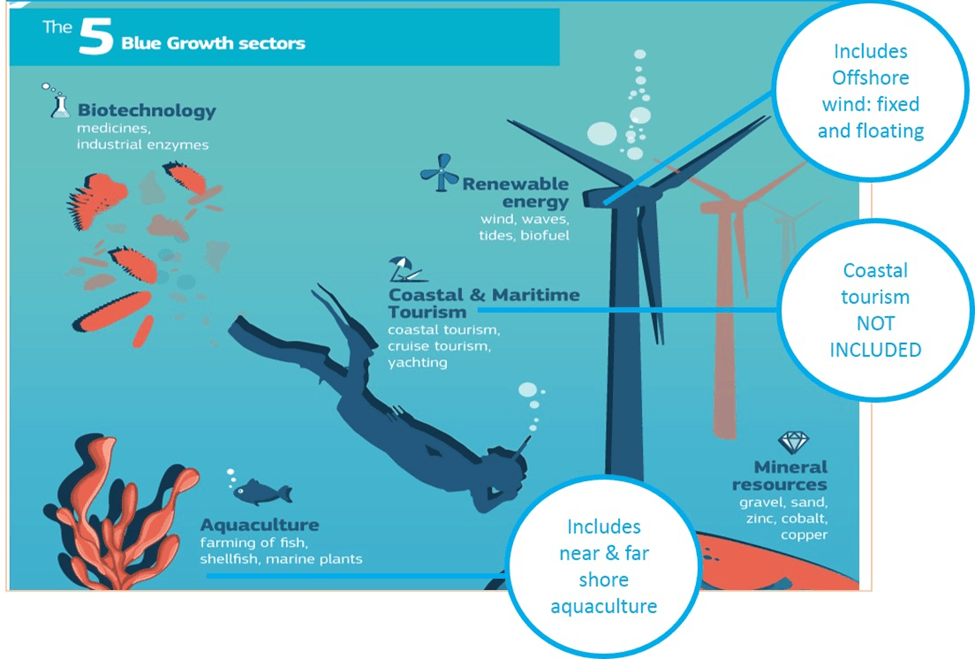 Image of 5 Blue Growth Sectors