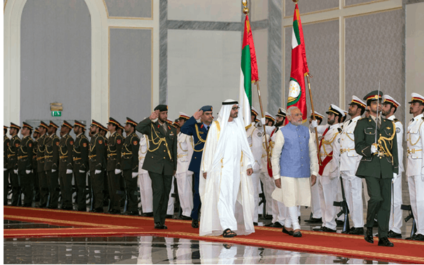 PM's Visit to UAE - A Grand Welcome