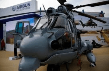 Image shows the Airbus Helicopters