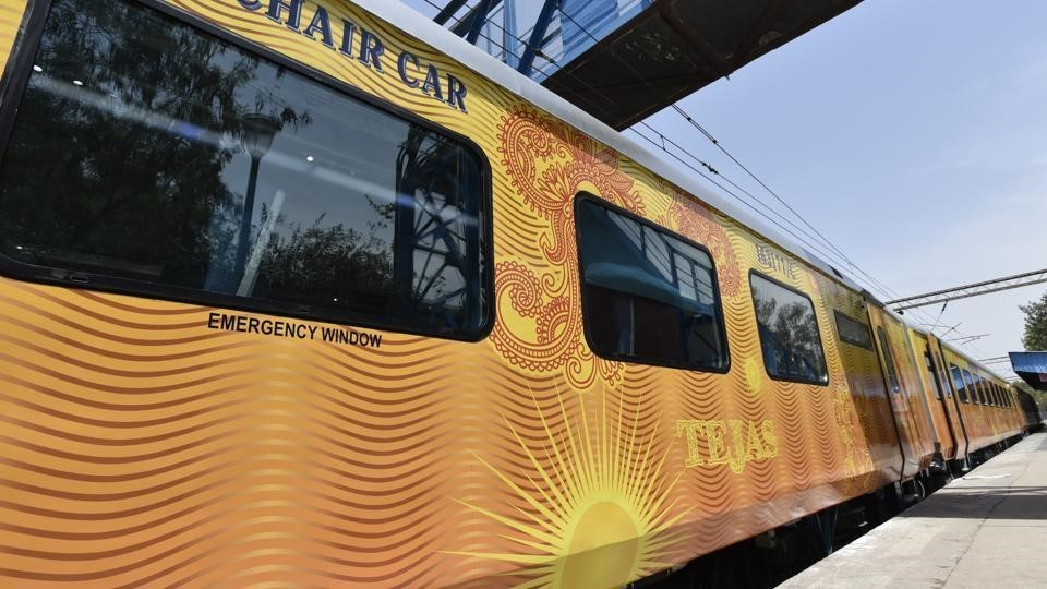 Image of the Tejas Express