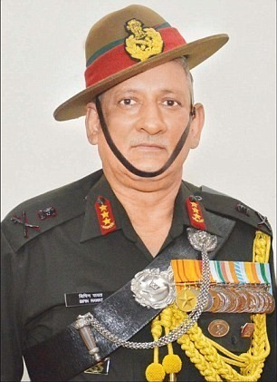 Image of General Bipin Rawat
