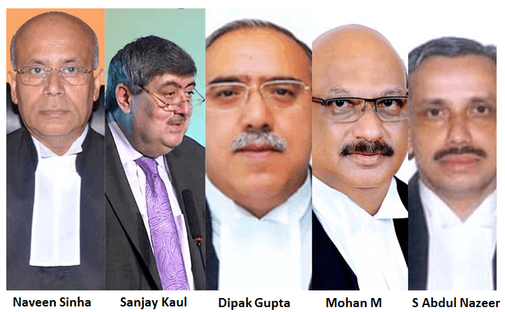 Government appoints 5 new judges to Supreme Court