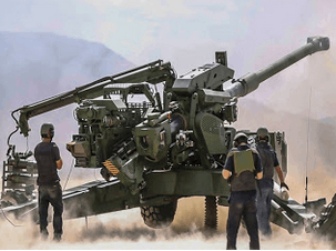 Image shows the New Advanced Towed Artillery Gun System