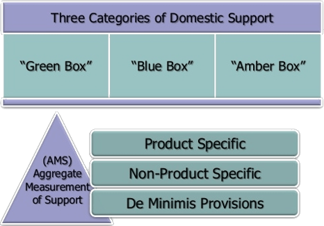 Image of Three Categories of Domestic Support
