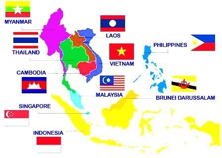 Image of Current Members of ASEAN