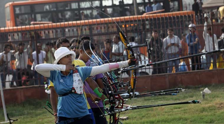 Indian Women Team of Archery