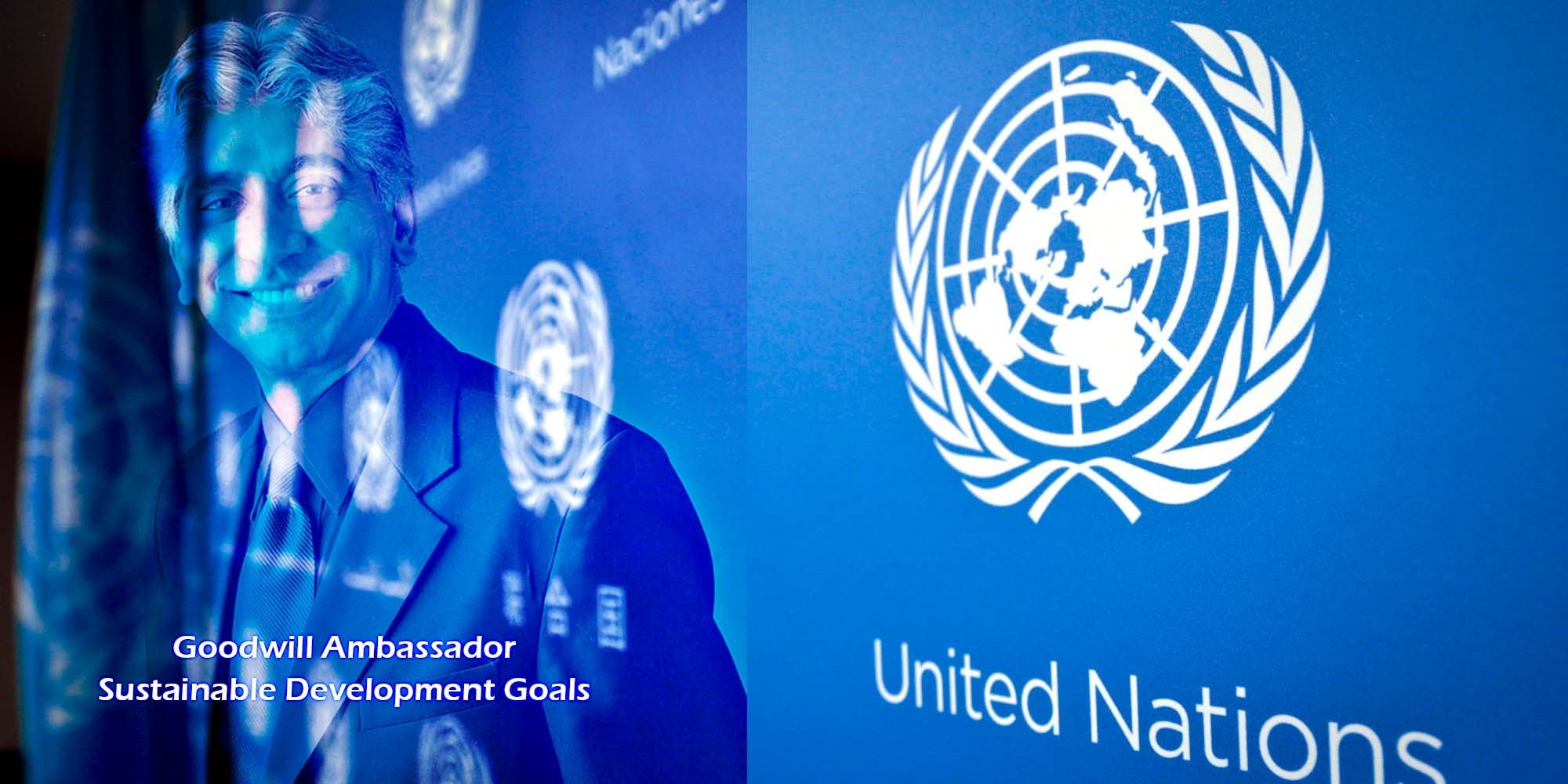 Ashok Amritraj appointed UN as Goodwill Ambassador for SDGs