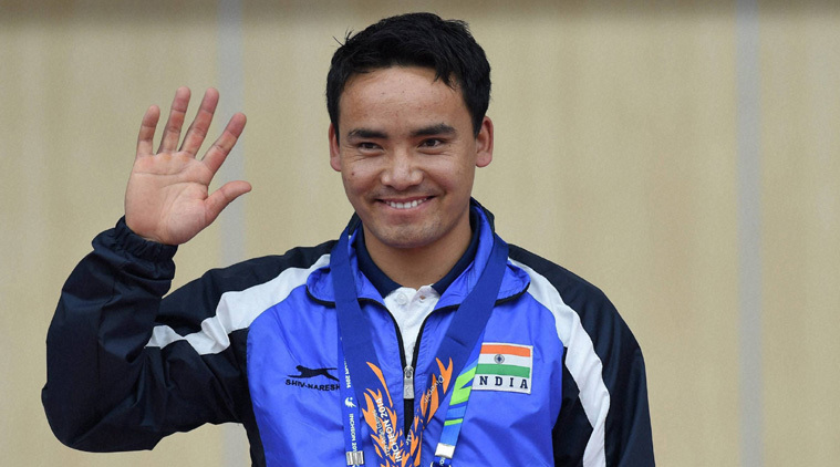 Image of Jitu Rai ce Indian shooter