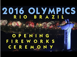 Opening ceremony of Rio Olympics 2016