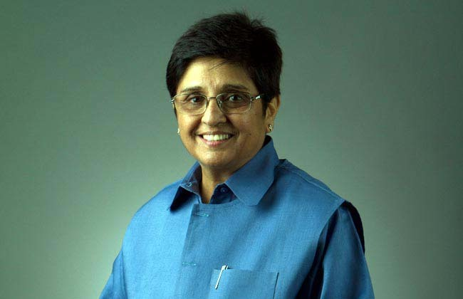 Image of Kiran Bedi formar IPS Officer
