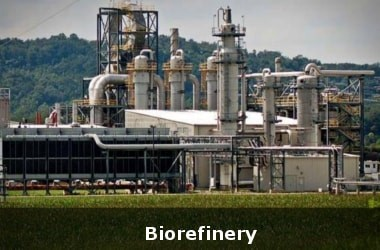 Image of the First Bio Refinery Plant