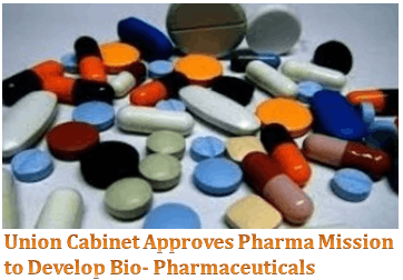 Union cabinet Approves Pharma Mission
