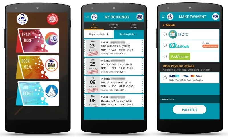 Indian Railways launches IRCTC Rail Connect app- Translation