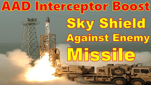 Image of Indigenous Supersonic AAD Ashwin Interceptor Missile