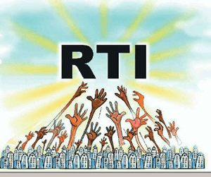 Image shows the Right to Information Act (RTI)