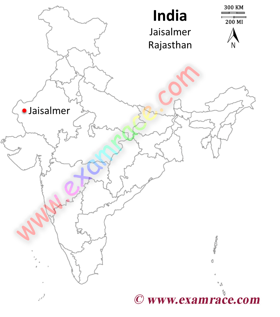 Location of NHPC Commissions 50 MW Wind Project in Rajasthan