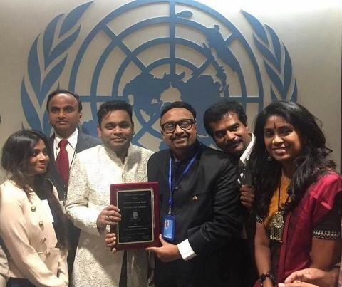 Image of  Tamil Ratna Award to AR Rahman