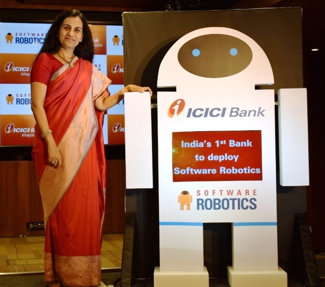 ICICI Bank launched Software Robotics
