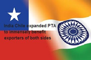 Image of the India – Chile expanded PTA