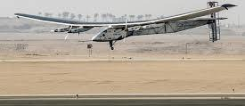 Image shows the Solar Impulse 2