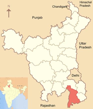 Haryana Map Pdf