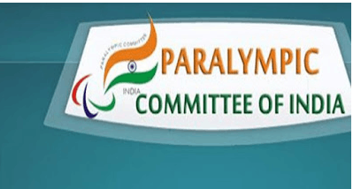 Image shows the Paralympic Committee of India