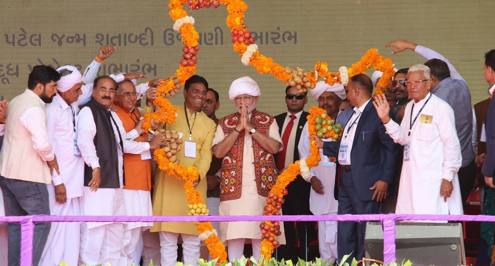 PM inaugurates India's largest cheese plant in Banaskantha