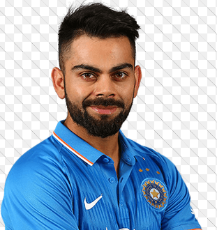 Image of Indian test team captain Virat Kohli