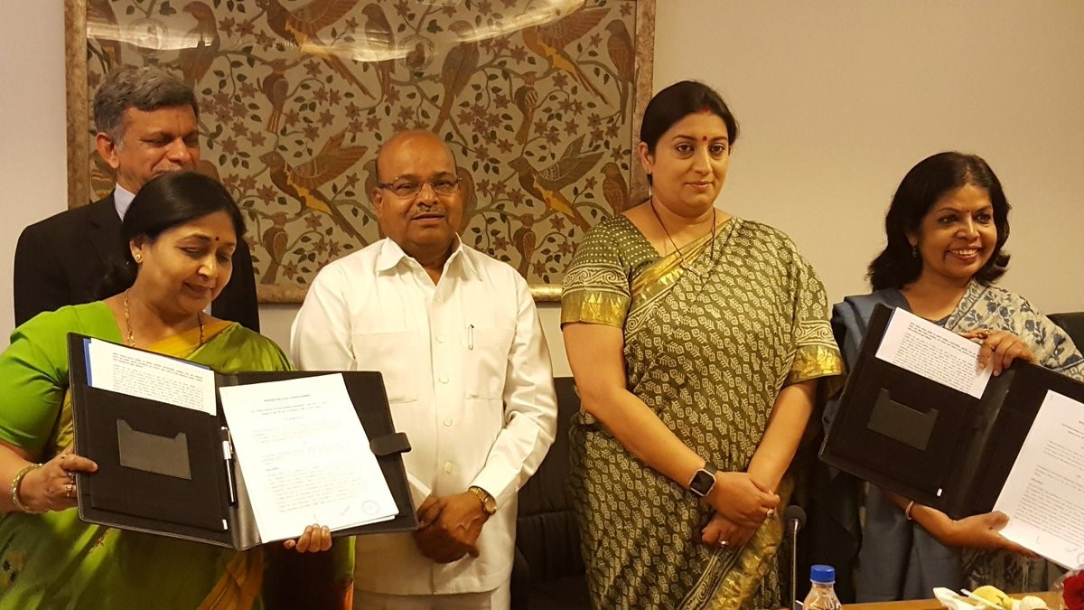 Tripartite MoU to help Scheduled Caste artisans