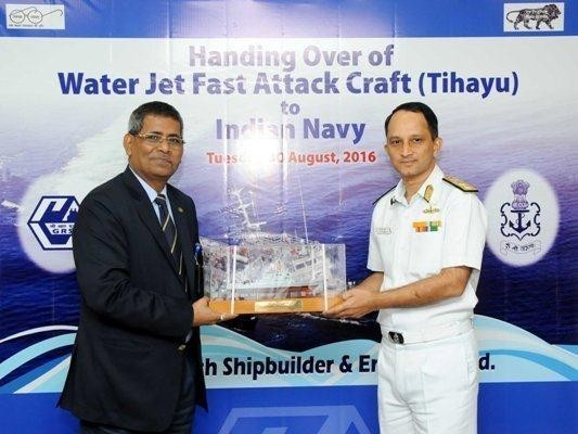 The fast attack craft given to Indian Navy