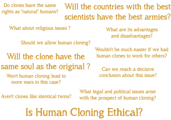 Image of ethics of cloning