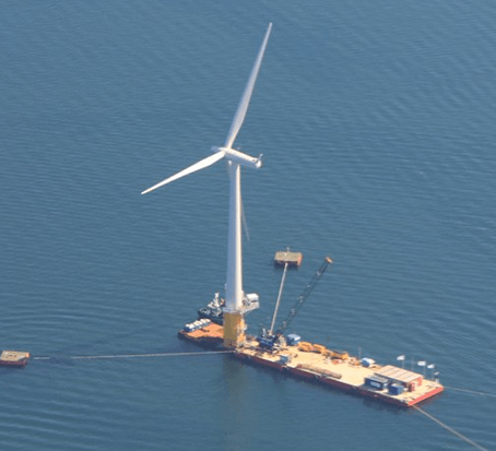 First Floating Wind Farm off Scotland Coast