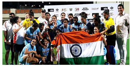 Image of Indian Women's Hockey Team